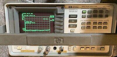C158870 Hp 8591a Option 001 Spectrum Analyzer 1mhz-1.8ghz 001 004 102 023 101