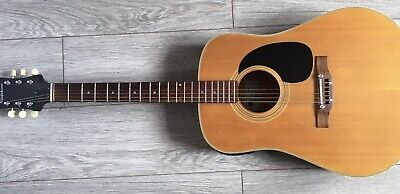 Vintage Epiphone Electro acoustic guitar Made In Japan