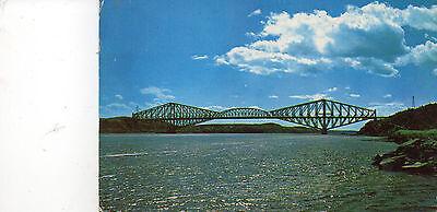 Postcard  Canada   The Quebec Bridge  Quebec posted