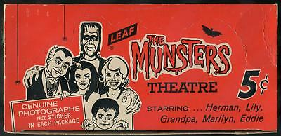 1964 Leaf The Munsters 5-Cent Display Box
