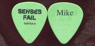 SENSES FAIL 2005 Warped Tour Guitar Pick!!! MIKE GLITA custom concert stage Pick for sale  Shipping to India