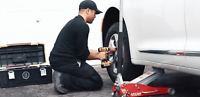 Low Investment Mobile Tire Change Franchise Available