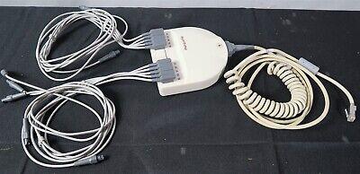Marquette Am5 Acquisition Module Cable Patient Lead Wires Stress Clip Ecg Ekg