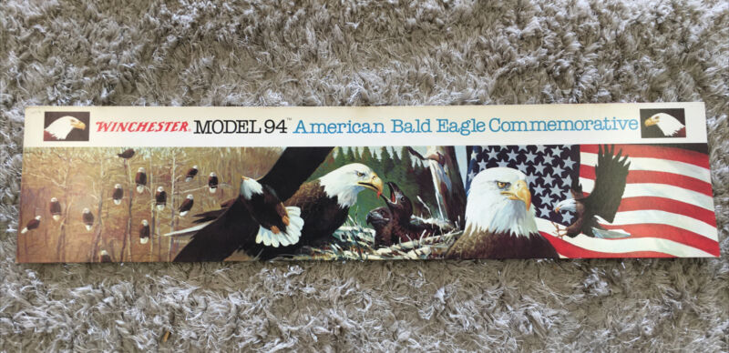 WINCHESTER RIFLE SLEEVE MODEL 94 BALD EAGLE COMMEMORATIVE