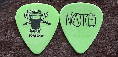 FLOGGING MOLLY 2008 Float Tour Guitar Pick!! NATHEN MAXWELL custom concert stage