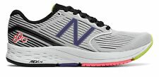 New Balance Women's 890V6 Shoes White With Black & Blue