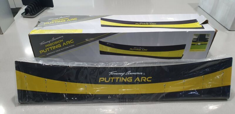 New Tommy Armour Precision Putting Arc golf