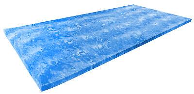 Gel Topper Matratzenauflage Gelschaum Topper 200x200 cm ohne Bezug