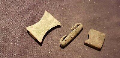 Very rare Superb Viking copper alloy strap slides. Please read description. L2v