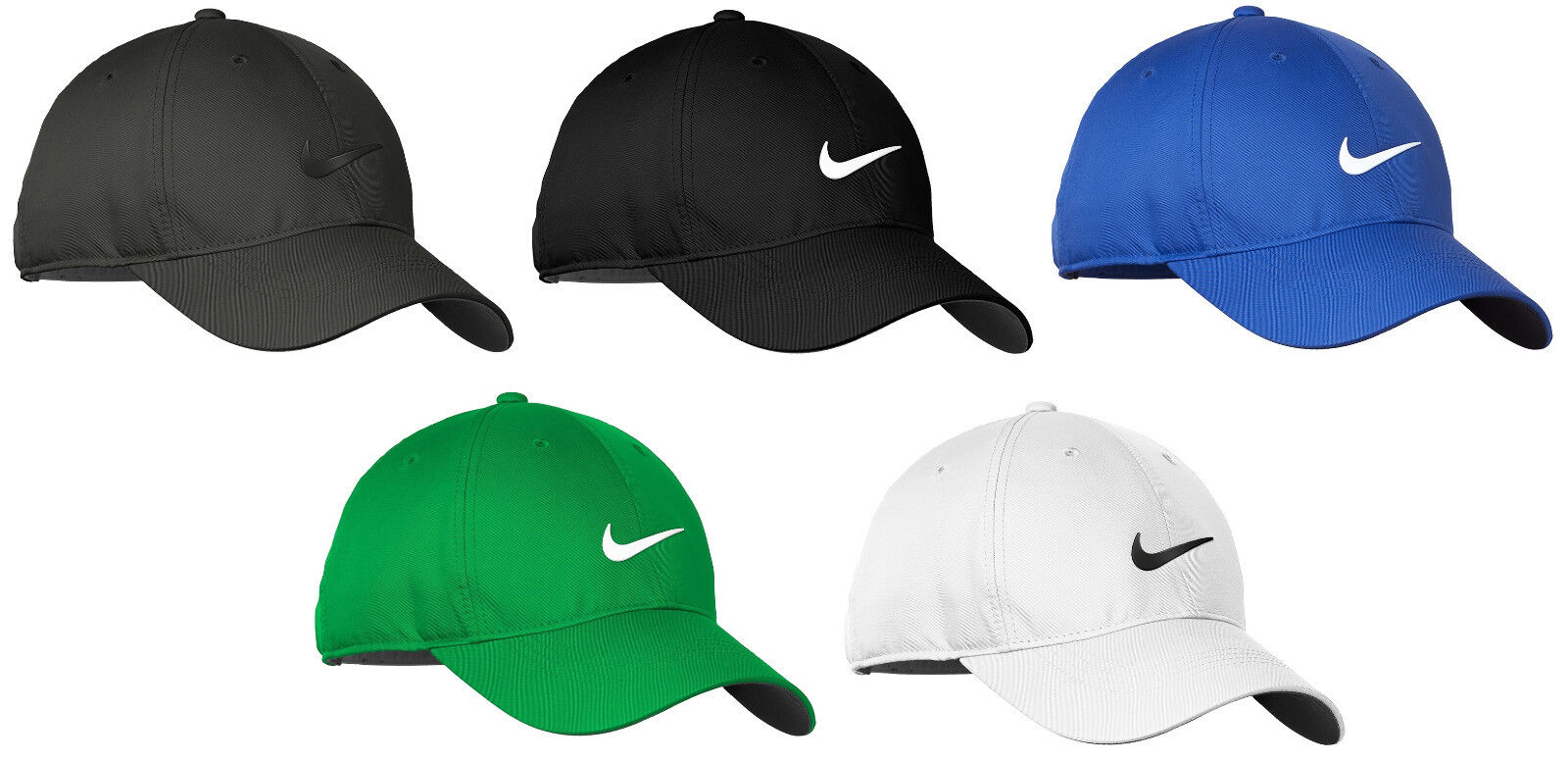 Nike Dri-FIT Swoosh Front Men's Adjustable Strapback Dad Cap Authentic Hat