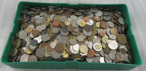5 Pounds World / Foreign Coins * Good Mix of Countries & Types
