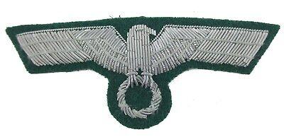 Gestickte Adler (Wehrmacht Brustadler Heer Offizier Frühe Version M36 Handgestickt Reenactment)