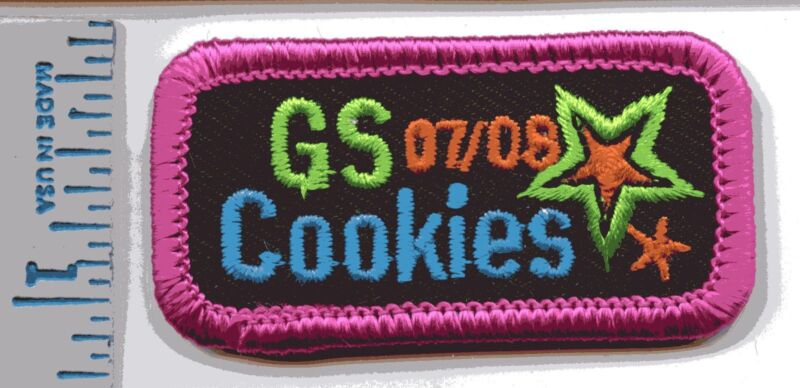 Girl Scout Cookie Patch - 2007-2008