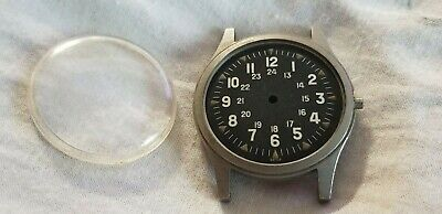 Hamilton 1971 GG-W-113 Military watch NOS case and dial