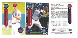 2018 PCL PACIFIC COAST LEAGUE ALL STAR SET COMPLETE MINORS AAA ALL STARS