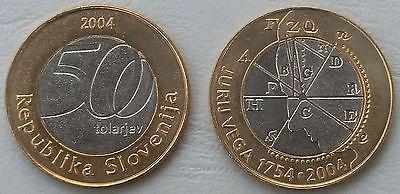Slowenien / Slovenia 500 Tolarjev 2004 p57 unz.