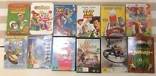 12 X assorted children's DVD's Elanora Gold Coast South Preview