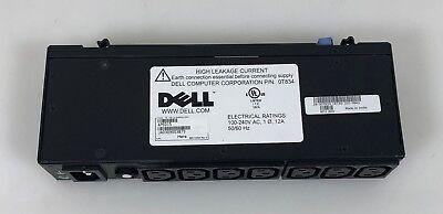 Dell 0T834 7 Outlet 120V 240V Power Distribution Unit Pdu Ap6015