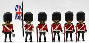 Royal-GUARDIA-CUSTOM-Coleccion-PLAYMOBIL-para-Union-Jack-Gorro-de-piel-oso-4577