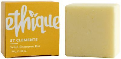 Ethique Eco-Friendly Solid Shampoo Bar, St Clements 3.88 oz