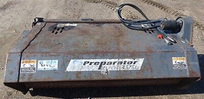 Paladin Ffc Laf3576 76 Soil Preparator Debris Rake Skidsteer Attachment