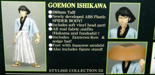 "NEW MEDICOM LUPIN the 3RD Stylish Collection ""GOEMON ISHIKAWA"" CAGLIOSTRO Vers."