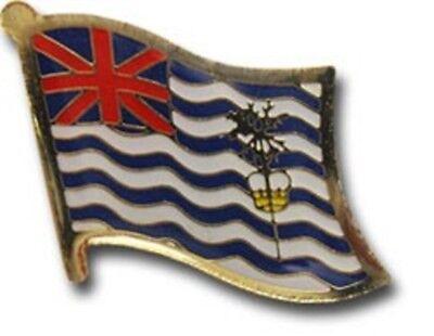 Wholesale Pack of 50 British Indian Ocean Country Flag Bike Hat Cap lapel Pin