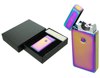 Dual Arc Electric USB Lighter Rechargeable Plasma Windproof Flameless CigaretteR - Flameless Lighter