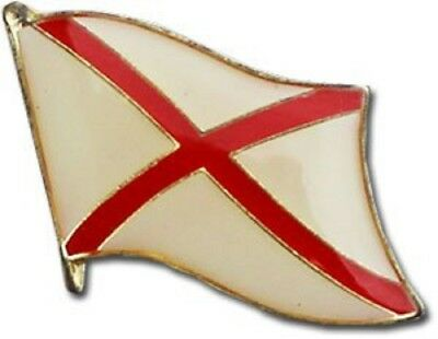 Wholesale Pack of 50 State of Alabama AL Flag Bike Hat Cap lapel Pin