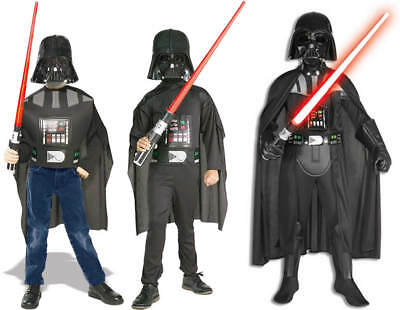 Star Wars Darth Vader Kinder Karneval Fasching Kostüm 116-164