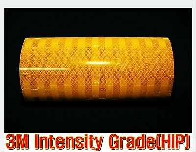 L:10ft/3M/ Yellow REFLECTIVE Tape/Intensity Grade/Vinyl/Adhe