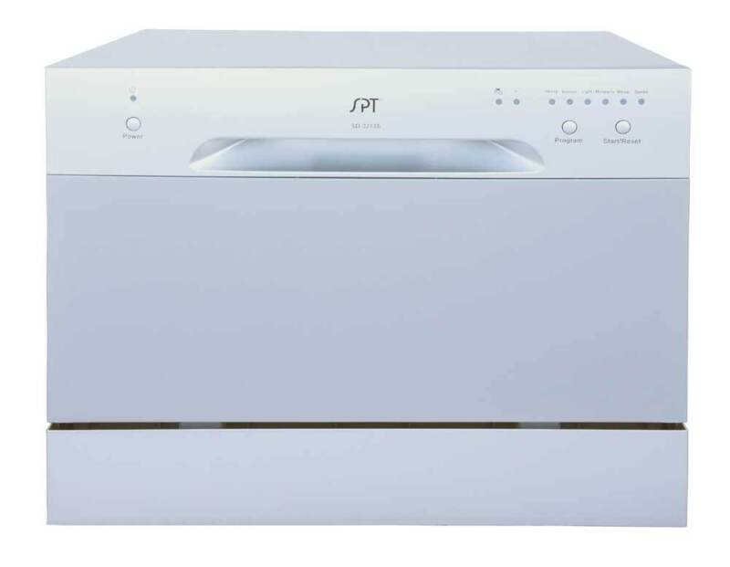 "SPT 22"" Tabletop Portable Dishwasher Silver SD-2213S"