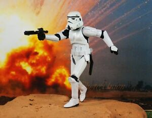 Hasbro Star Wars 3.75 Figure 1:18 Imperial Stormtrooper Disguise 30th Anni S401