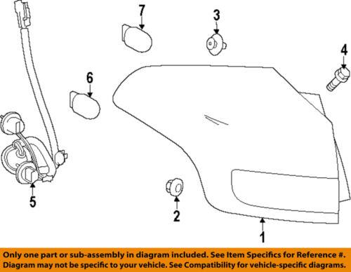 TOYOTA OEM 13-14 RAV4 Taillight Tail Light-Rear-Lens & Housing Right 8155142161