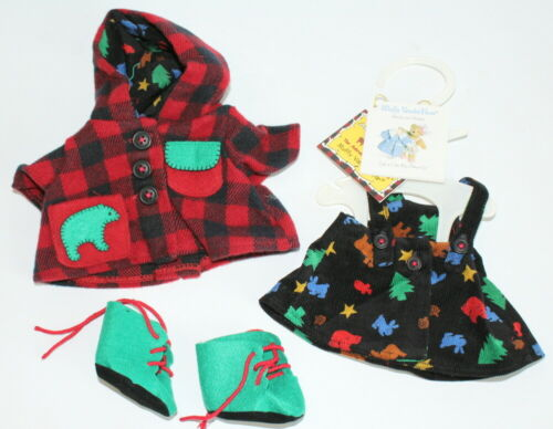 Muffy Vanderbear Clothesline Collection All Spruced Up Adirondack Outfit Set - $29.99