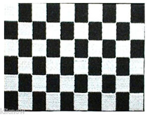 Black-and-White-Checkered-Racing-embroidered-Patch-5-x-4-13-x-10CM-approx