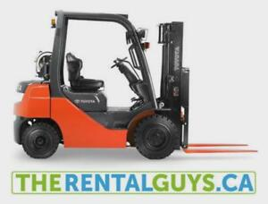 Forklift For Rent - Free Delivery & Pick Up !!!