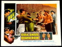 MOVIE POSTERS: Cell 2455 Death Row 1955