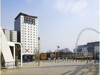 Anthony Joshua V Wladimir Klitschko Hotel Included Outside Stadium, 1 Minute Walk