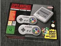 Super Nintendo Snes Mini Console Brand New in stock