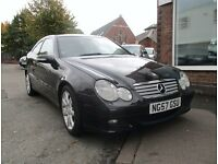 2008 MERCEDES C200 CDI SPORT EDITION COUPE AUTOMATIC | 12 MONTHS MOT | FULL SERVICE HISTORY