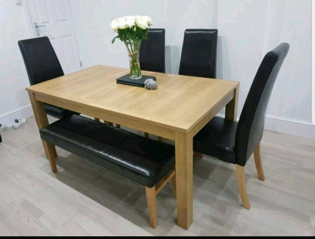 Next Dining Table Chairs Bench