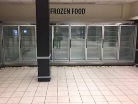 remote commercial upright freezer
