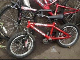 Kid's bicycles