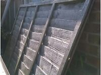 For sale one 6ft x 6ft fence panel.