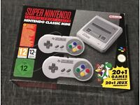 SNES CLASSIC MINI FULLY LOADED 180+ GAMES
