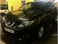 Nissan Qashqai 1.6 dCi Acenta Premium in excellent condition with 2 years extra dealer warranty