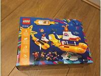 Yellow submarine unopened Lego set