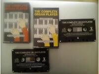 THE COMPLETE ORGAN PLAYER CASSETTES