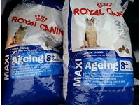 2× Royal Canin AGEING LARGE BREED complete food (£35 for 1 /£60 for both)